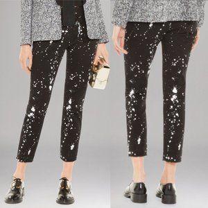 SANDRO Peinture Splatter Paint Jeans